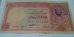 EGYPT - 10 Pounds - 1959 - P-32 -sig..ELEMARI ,- Prefix 81 ش ص - Egipto