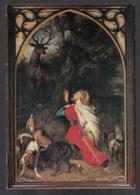 PM202/ Lambert MATHIEU, *La Conversion De Saint-Hubert*, Basilique De Saint-Hubert - Peintures & Tableaux
