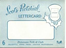 Lot De 6 Cartes Postales Picturesque Firth Of Clyde - Autres