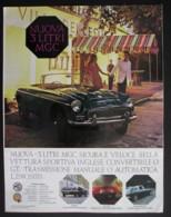 ORIGINAL 1968 MAGAZINE ADVERT FOR NUOVA 3 LITRE MGC CAR - Other