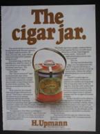 ORIGINAL 1974 MAGAZINE ADVERT FOR H.UPMANN HAVANA CIGARS - Advertising