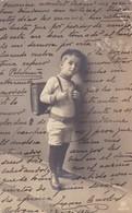 PETIT ETUDIANT LITTLE STUDENT. RPH. CIRCULEE 1911 A BOLOGNA A NICE - BLEUP - Scènes & Paysages