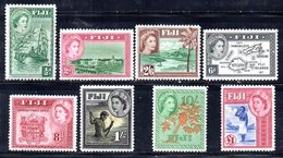 CI1061B - FIJI 1954 , Ordinaria Yvert  Serie N. 137/144 ***  (2380A) - Fiji (...-1970)
