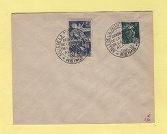 Salle De La Reddition - Ceremonie De La Remise De La Salle A La Ville - 1945 - Poststempel (Briefe)