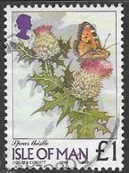 Isle Of Man SG785 1998 Definitive £1 Good/fine Used [12/12486/25D] - Isle Of Man