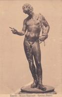 NARCISO, BRONZO. E RAGOZINO. CPA CIRCA 1900s - BLEUP - Sculture