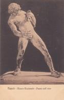 FAUNO COLL'OTRE. E RAGOZINO. CPA CIRCA 1900s - BLEUP - Sculture