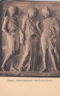 ORFEO, EURIDICE E MERCURIO. E RAGOZINO. CPA CIRCA 1900s - BLEUP - Sculture