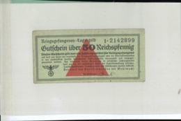 KRIEGSGEFANGENEN LAGERGELD Gutfchein über 5 Reichsmark  (Billet Camp De Prisonniers -guerre 1939-1945 - MAR 2019  135 - [ 4] 1933-1945 : Troisième Reich