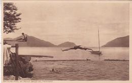 BATHING POOL AT POINT BALEINE. TRINIDAD. . F P BRUCE AUSTIN. CPA CIRCA 1920s - BLEUP - Trinidad