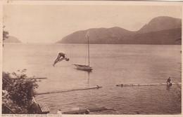 BATHING POOL AT POINT BALEINE. TRINIDAD. F P BRUCE AUSTIN. CPA CIRCA 1920s - BLEUP - Trinidad