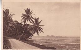 """TUCKER BAY ROAD & """"FIVE ISLANDS"""". TRINIDAD. F P BRUCE AUSTIN. CPA CIRCA 1920s - BLEUP - Trinidad"""