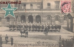 ESPERANTO ESPERANTISTE CACHET FLAMME TIMBRE THE HORSE GUARDS LONDON LONDRES - Esperanto