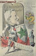ILLUSTRATEUR JEAN ROBERT ESPERANTO CARICATURE POLITIQUE SATIRIQUE TH. CART LYON CONGRES ESPERANTISTE - Esperanto