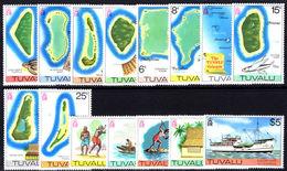 Tuvalu 1976 Set Unmounted Mint. - Tuvalu