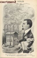 ILLUSTRATEUR JEAN ROBERT ESPERANTO CARICATURE POLITIQUE SATIRIQUE H. HOLDER GENEVE U.E.A. CONGRES ESPERANTISTE - Esperanto