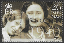 Isle Of Man SG876 2000 'Queen Elizabeth The Queen Mother's Century' 26p Good/fine Used [39/32058/25D] - Isle Of Man