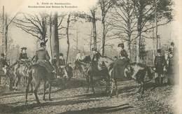 """CPA FRANCE  78 """"La Forêt De Rambouillet"""" / CHASSE A COURRE - Rambouillet"""