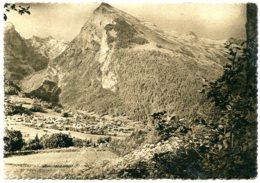 74340 SAMOËNS - Sépia Mat, Vue Du Village L'été - CPSM 10,5x15 - Samoëns