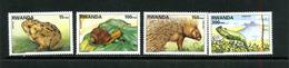 Rwanda 1998 COB 1407/10 ** Faune - Rwanda
