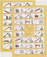 Indonesia 2014/2015 Traditional Ethnic Musical Instruments Stamp Sheetlet*2 MNH - Indonesia