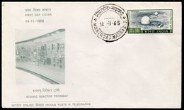 INDIA, 1965 TROMBAY REACTOR FDC - Covers & Documents