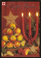 Postal Stationery - Candles - Apples - Red Cross 2004 - Suomi Finland - Postage Paid - Finlandia