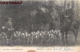 EURVILLE LA MEUTE CHASSE A COURRE CHASSEUR HUNT HUNTING 52 - France