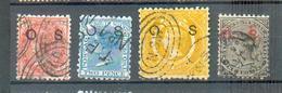 E 124 - NGS -  YT Serv 1-2-7-10 ° Obli - 1850-1906 New South Wales