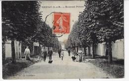 77 - TOURNAN - Boulevard Péreire - Belle Animation - 1918 (X156) - Tournan En Brie