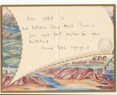 G.B. / Greetings / Telegrams / Gloucestershire / Lighthouses - 1902-1951 (Kings)