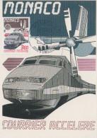Carte Maximum  FDC  1er  Jour   MONACO    EUROPA    1988 - Europa-CEPT