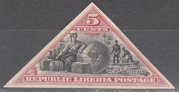 LIBERIA       SCOTT NO. 52    USED     YEAR  1894 - Liberia