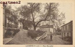 LAUZERTE PLACE MERCADIEL ANIMEE 82 TARN-ET-GARONNE - Lauzerte