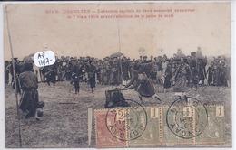 TONKIN- QUANG-YEN- EXECUTION CAPITALE DE DEUX ASSASSINS ANNAMITES- 7 MARS 1905- - Cartes Postales