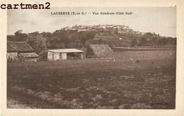 LAUZERTE VUE GENERALE COTE SUD 82 TARN-ET-GARONNE - Lauzerte