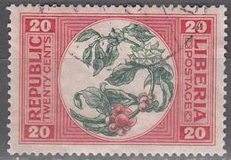 LIBERIA       SCOTT NO. 187     USED     YEAR  1921` - Liberia