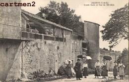 LAUZERTE GRANDE ROUTE ET TOUR ANIME 82 TARN-ET-GARONNE - Lauzerte