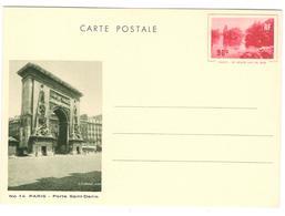 15652 - LE GRAND LAC DU BOIS - Postal Stamped Stationery