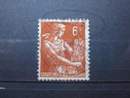 """VEND BEAU TIMBRE DE FRANCE N° 1115 , OBLITERATION """" WITTENHEIM """" !!! - 1957-59 Moissonneuse"""