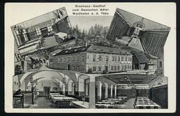 AK/CP Waidhofen Ybbs  Brauhaus  Gasthof Jax  Ungel./uncirc.ca 1920   Erhaltung /Cond. 2/2-  Eckknick  Nr. 00651 - Waidhofen An Der Ybbs