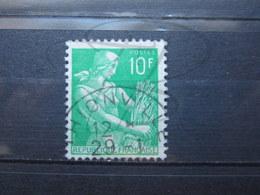 """VEND BEAU TIMBRE DE FRANCE N° 1115A , OBLITERATION """" THIONVILLE """" !!! - 1957-59 Moissonneuse"""