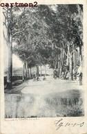 """LAUZERTE """" CARTE SANS LEGENDE """" PLACE DE L'EVECHE ? """"  EN 1900 82 TARN-ET-GARONNE - Lauzerte"""