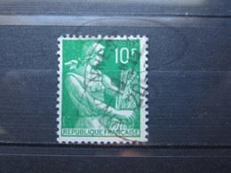 """VEND BEAU TIMBRE DE FRANCE N° 1115A , OBLITERATION """" VINCENNES """" !!! - 1957-59 Moissonneuse"""