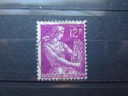 """VEND BEAU TIMBRE DE FRANCE N° 1116 , OBLITERATION """" CHAVILLE """" !!! - 1957-59 Moissonneuse"""