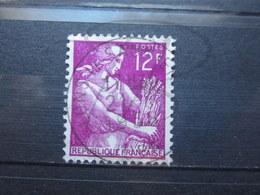 """VEND BEAU TIMBRE DE FRANCE N° 1116 , OBLITERATION """" LONS-LE-SAULNIER """" !!! - 1957-59 Moissonneuse"""
