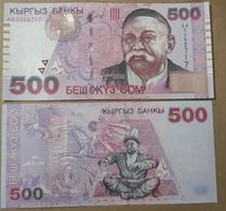 Kyrgyzstan 500 Som. 2000.   UNC - Kirghizistan