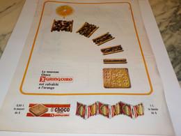 ANCIENNE PUBLICITE CHOCO RAFRAICHI GRINGOIRE 1964 - Affiches