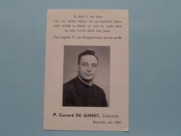 P. Gerard DE GENDT Scheutist BAASRODE  Mei 1962 > Our Lady Of JAPAN > Blijken Van Genegenheid ! - Religion & Esotérisme