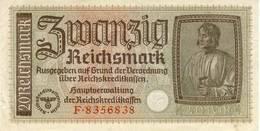 Germany 20 Reichsmark Third Reich - [ 4] 1933-1945 : Troisième Reich